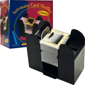 card shuffler for gaming cards